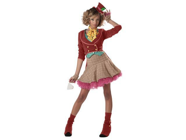 Teen Mad Hatter Costume - Alice in Wonderland Costumes
