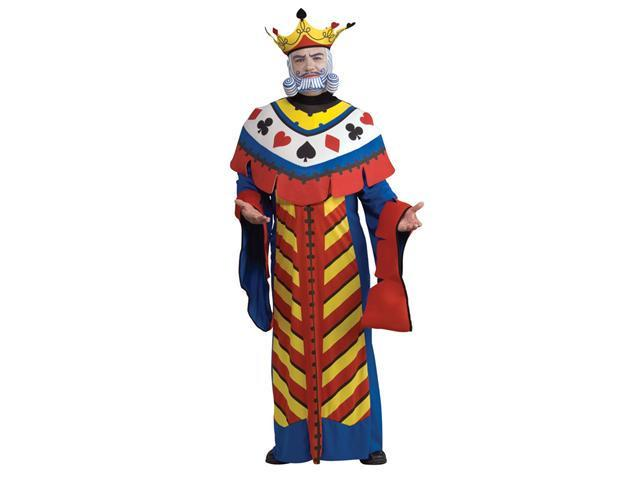 Deluxe Mens King Playing Card Costume - Card Halloween Costumes