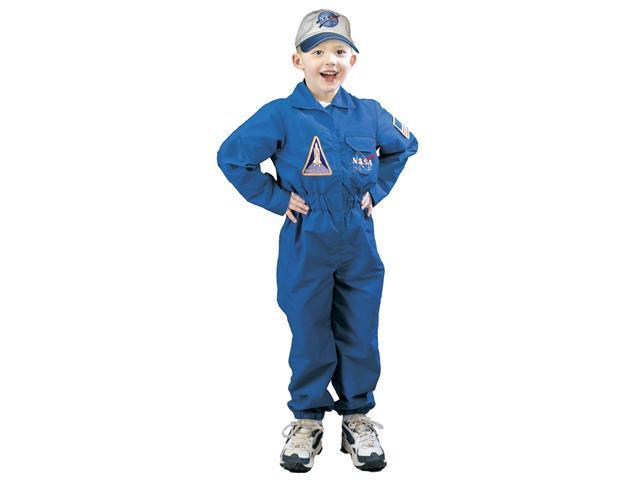 Jr. Flight Suit Costume with NASA Cap  - Astronaut Costumes