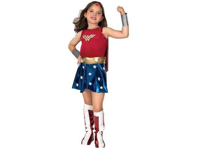 Girls Wonder Woman Costume - Justice League Costumes