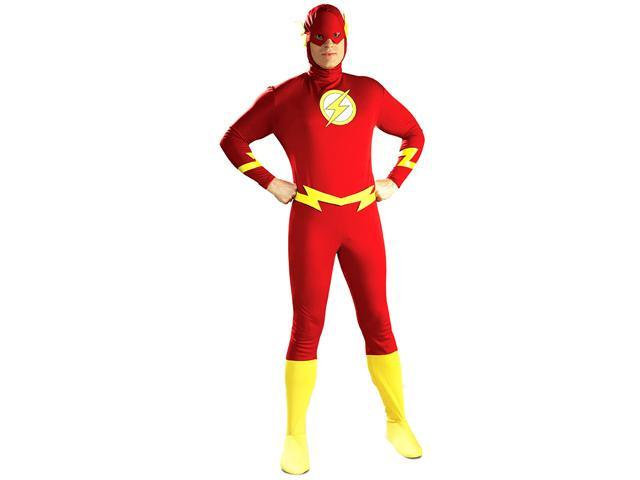 The Flash Adult Costume - Authentic Justice League Costumes