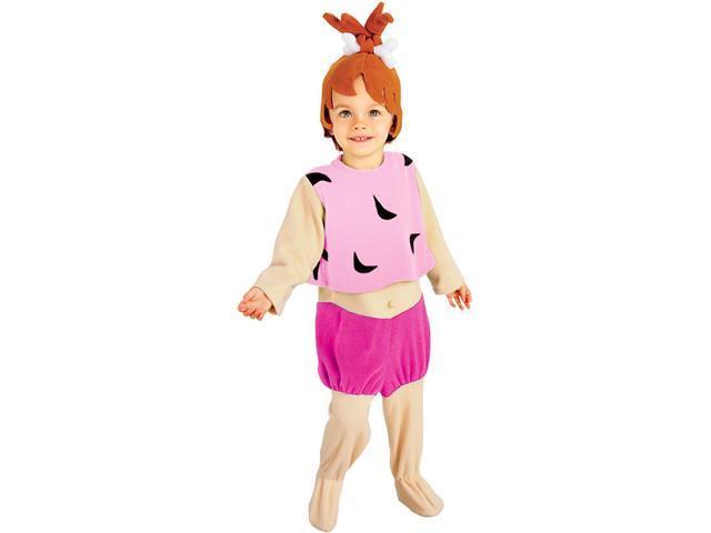 Girls Pebbles Flintstone Costume - Flintstones Costumes