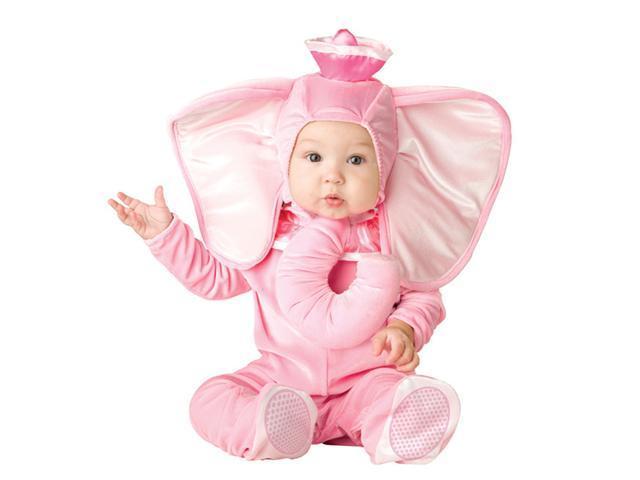 Little Baby Pink Elephant Costume - Baby Animal Costumes