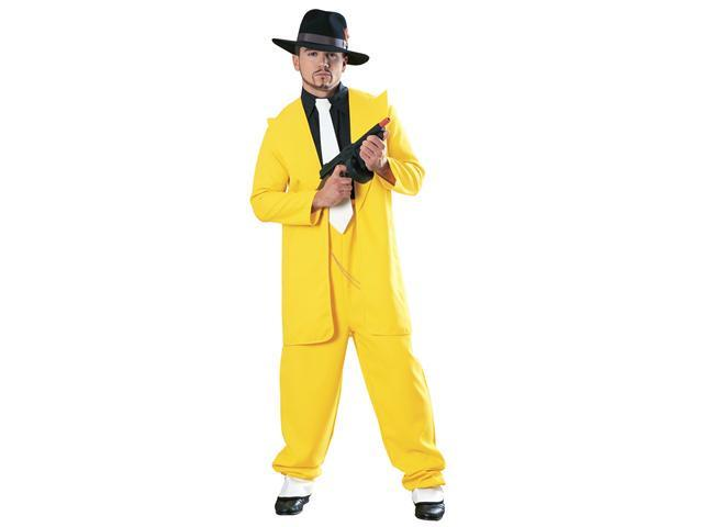 Adult Yellow Zoot Suit Costume - Zoot Suit Costumes