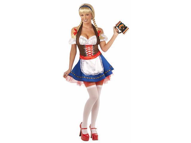 Oktoberfest Fraulein Costume - German And Oktoberfest Costumes