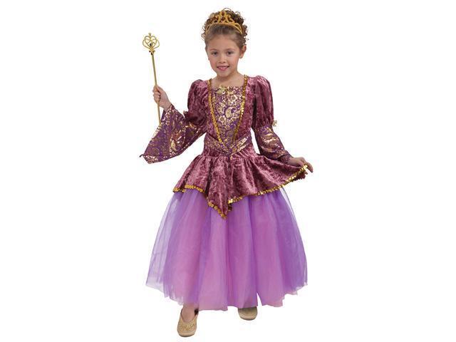 Girls Plum Princess Costume - Girls Princess Costumes