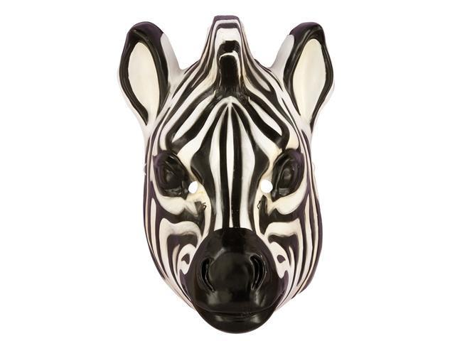 Deluxe Adult Zebra Mask - Animal Masks