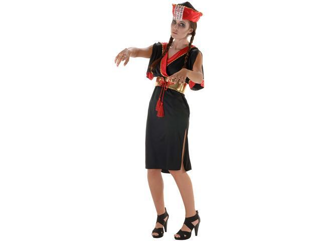 Asian Hopping Doll Adult Costume - Scary Costumes
