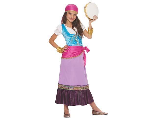 Girls Gypsy Costume - Halloween Costumes