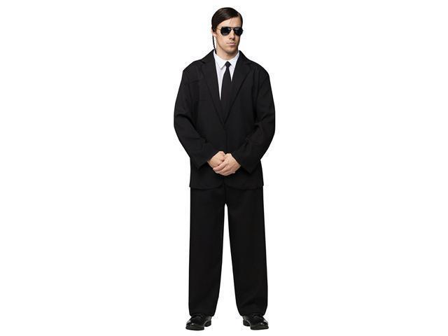 Black Suit Adult Costume - Halloween Costumes