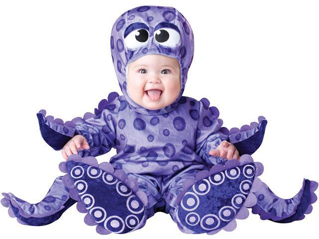 Tiny Tentacles Octopus Baby Costume - Baby Costumes