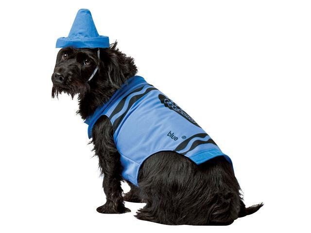Crayola Blue Crayon Dog Costume - Dog Costumes