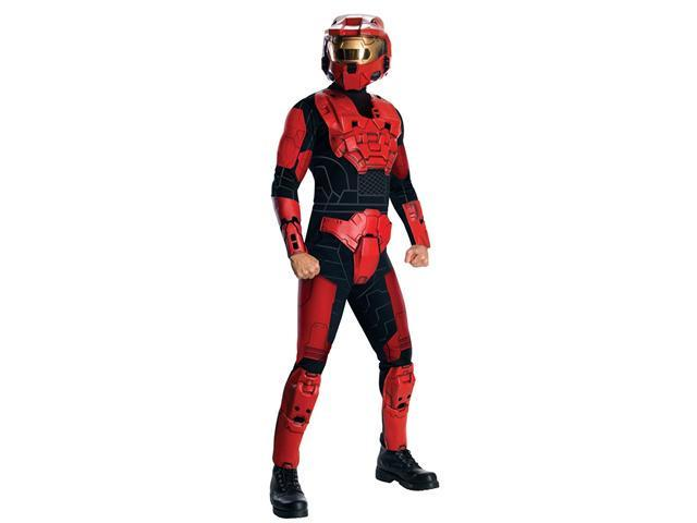 Deluxe Red Spartan Halo Costume - Halo Costumes