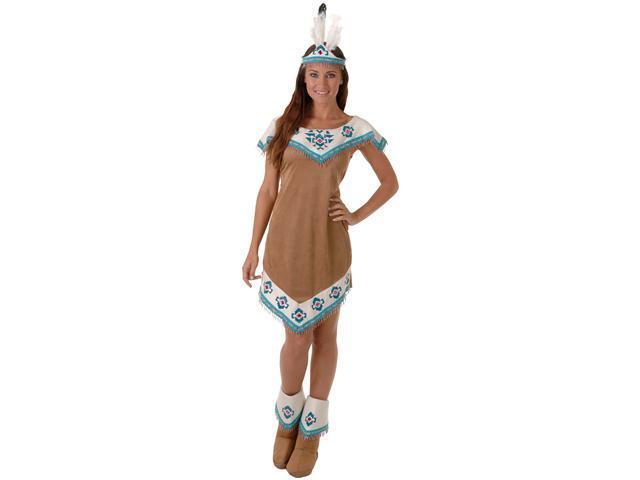 Deluxe Running Deer Indian Costume - Native American Indian Costumes