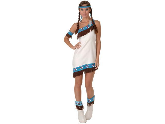 Deluxe Princess Lily Indian Costume - Native American Indian Costumes