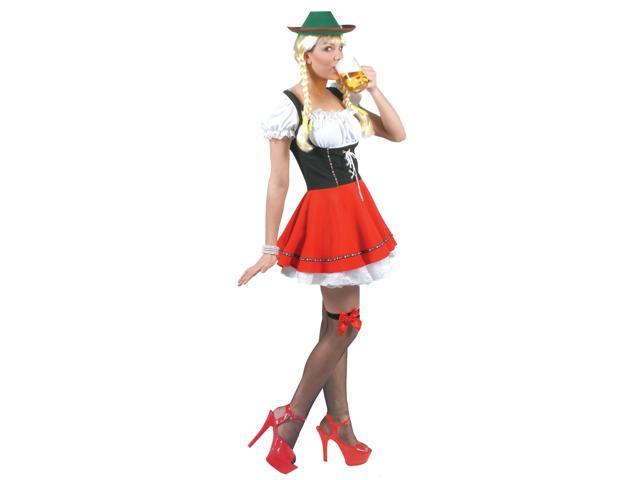 Womens Beer Garden Babe Adult Costume - German, Alpine and Oktoberfest Costumes