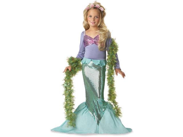 Girls Pretty Mermaid Costume - Mermaid Costumes