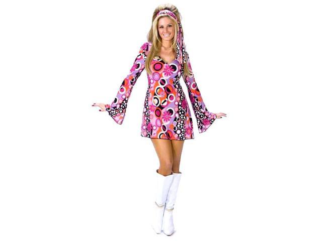 Adult Feeling Groovy Hippie Costume - Hippie and Disco Costumes