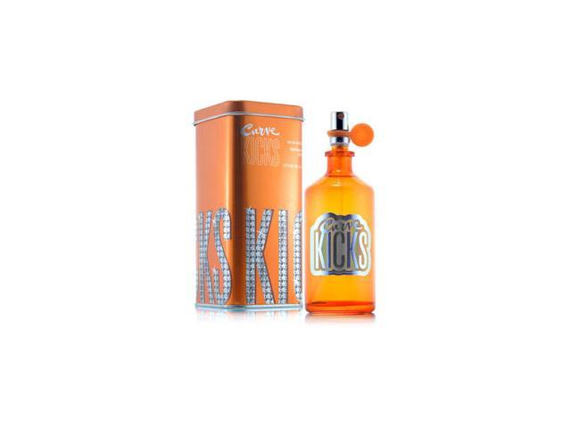 Curve Kicks by Liz Claiborne Gift Set - 3.4 oz EDT Spray + 6.7 oz Body Lotion + 3.4 oz Shower Gel + 0.20 oz Perfume Roll-On