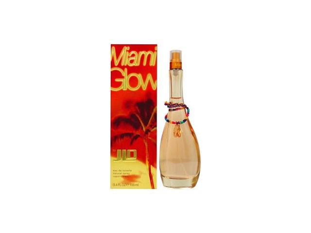 Miami Glow by Jennifer Lopez Gift Set - 1.0 oz EDT Spray + 0.49 oz Golden Bronzing Powder