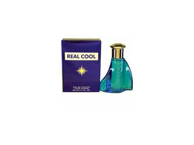 Real Cool by Victory International Gift Set - 3.4 oz EDT Spray + 3.4 oz Aftershave Balm