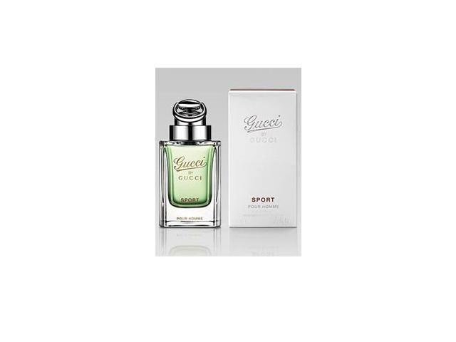 Gucci by Gucci Sport by Gucci Gift Set - 3.0 oz EDT Spray + 1.6 oz Aftershave Balm + 1.6 oz All Over Shampoo