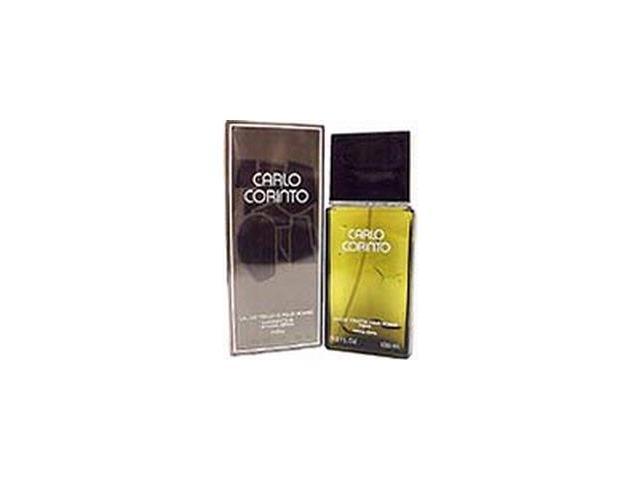 Carlo Corinto by Carlo Corinto Gift Set - 3.4 oz EDT Spray + 5.0 oz Aftershave Balm + 5.0 oz Body Shampoo + 5.0 oz Bar Soap