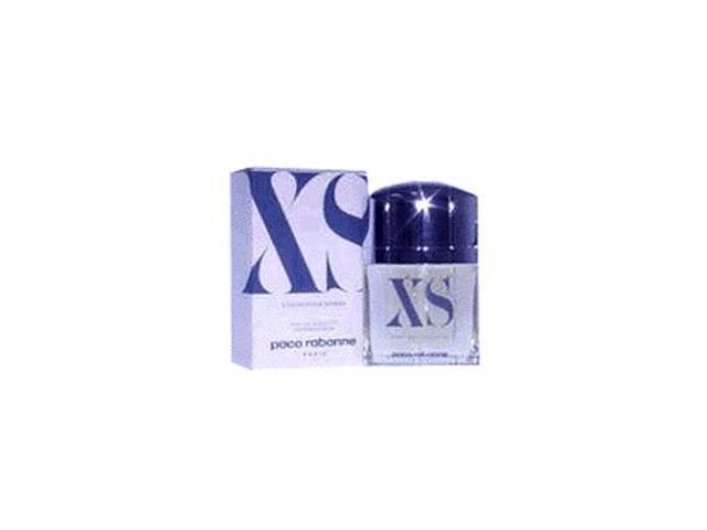 XS by Paco Rabanne Gift Set - 3.4 oz EDT Spray + 3.4 oz Shower Gel + 0.17 oz EDT Mini