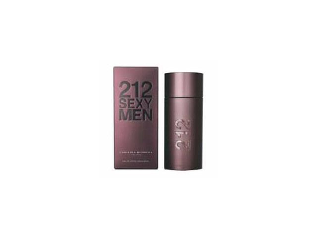 212 Sexy by Carolina Herrera Gift Set - 3.4 oz EDT Spray + 3.4 oz Aftershave Balm + Tote Bag