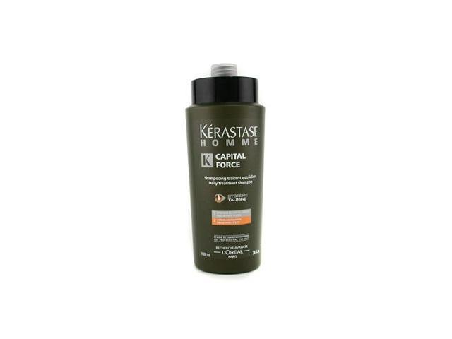 Homme Capital Force Daily Treatment Shampoo ( Densifying Effect ) by Kerastase