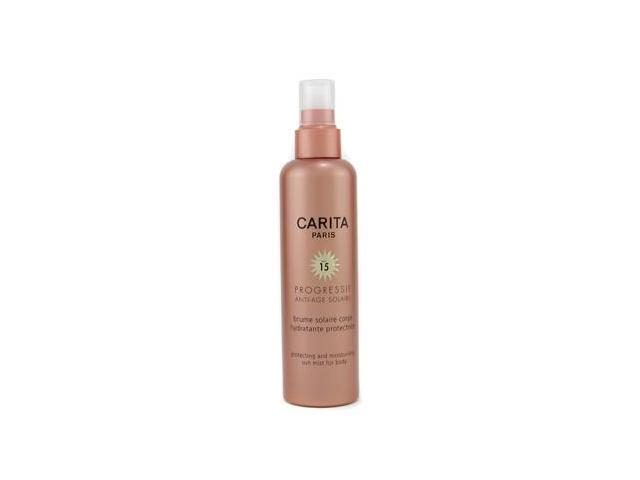 Progressif Anti-Age Solaire Protecting & Moisturizing Sun Mist for Body SPF 15 by Carita
