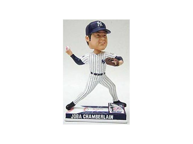 New York Yankees Joba Chamberlain Forever Collectibles On Field Bobble Head