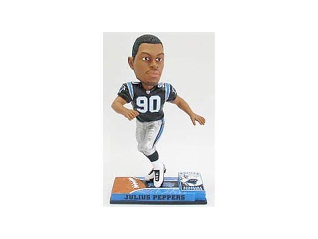 Carolina Panthers Julius Peppers Forever Collectibles On Field Bobble Head