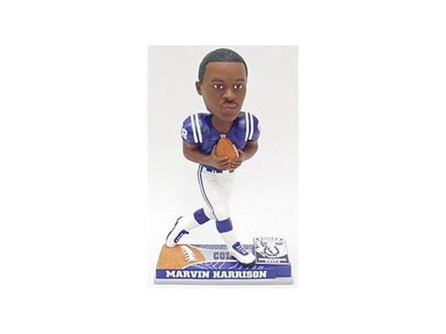 Indianapolis Colts Marvin Harrison Forever Collectibles On Field Bobble Head