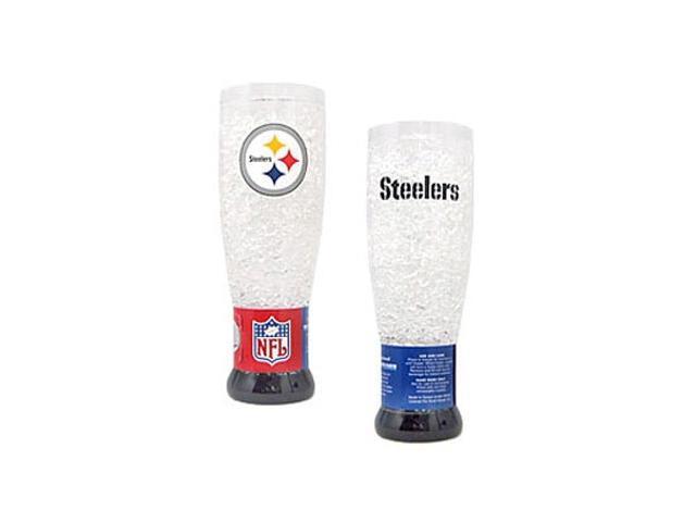 Pittsburgh Steelers Crystal Pilsner Glass