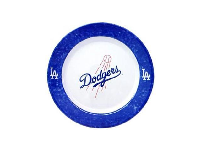 Los Angeles Dodgers 4 Piece Dinner Plate Set