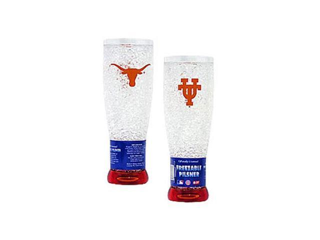 Texas Longhorns Crystal Pilsner Glass