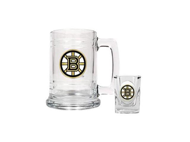 Boston Bruins - Boilermaker Set - Primary Logo