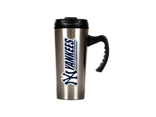 New York Yankees - 16oz Stainless Steel Travel Mug