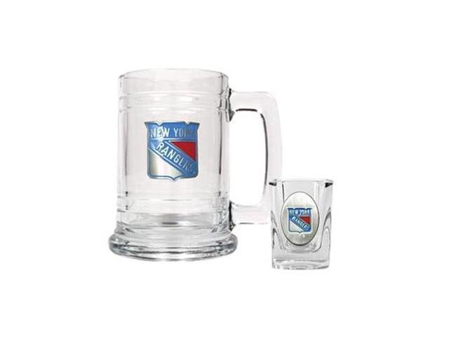 New York Rangers - Boilermaker Set - Primary Logo