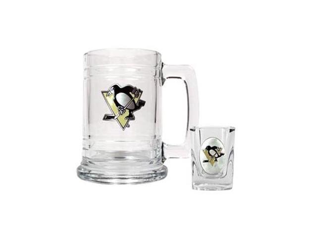 Pittsburgh Penguins - Boilermaker Set - Primary Logo