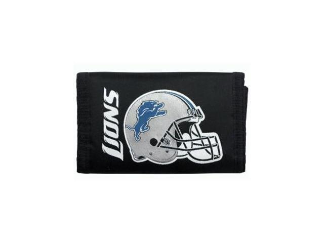 Detroit Lions Official NFL Nylon Trifold Wallet by Rico Industries 994084
