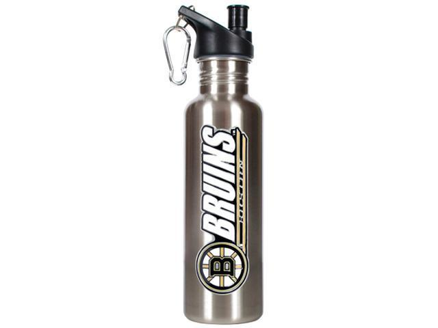 Boston Bruins - NHL 26oz stainless steel water bottle with Pop-up Spout