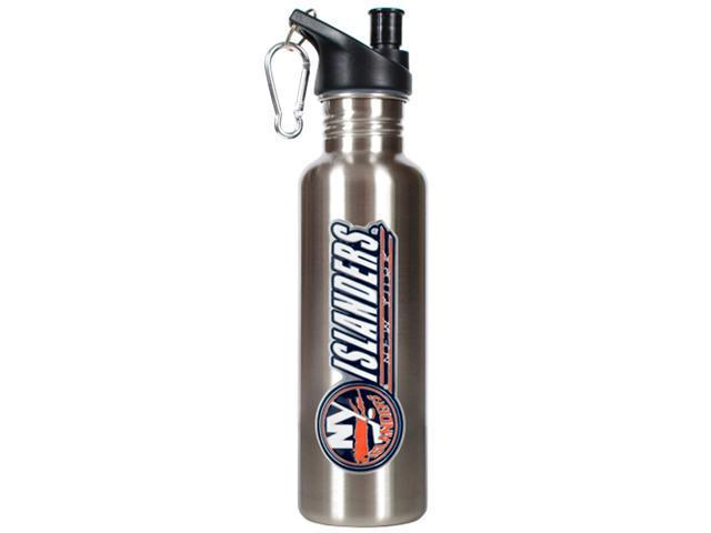New York Islanders - NHL 26oz stainless steel water bottle with Pop-up Spout