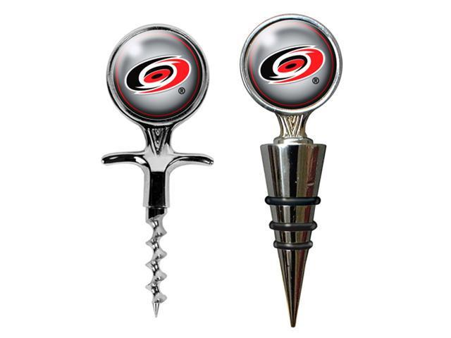 Carolina Hurricanes - NHL Cork Screw and Wine Bottle Topper Set
