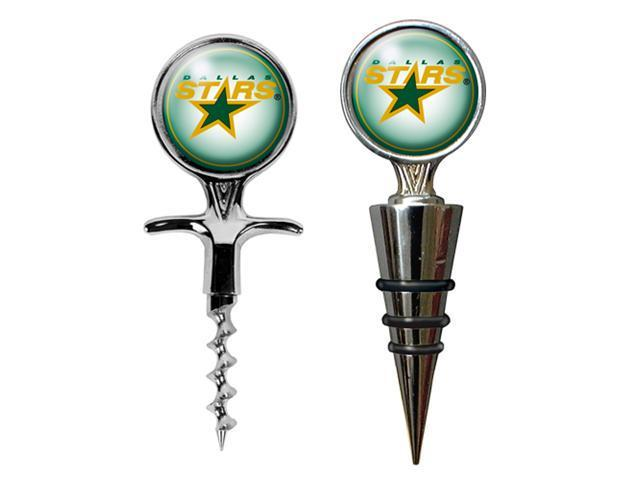Dallas Stars - NHL Cork Screw and Wine Bottle Topper Set