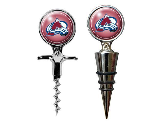 Colorado Avalanche - NHL Cork Screw and Wine Bottle Topper Set