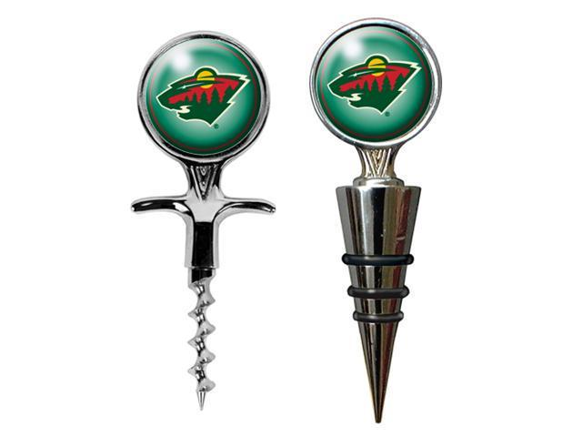 Minnesota Wild - NHL Cork Screw and Wine Bottle Topper Set