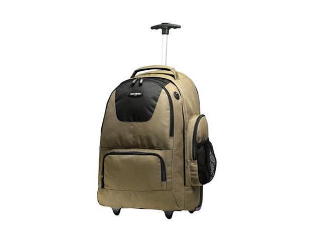 "Samsonite Luggage 21"" Wheeled/Rolling Computer Laptop Backpack"
