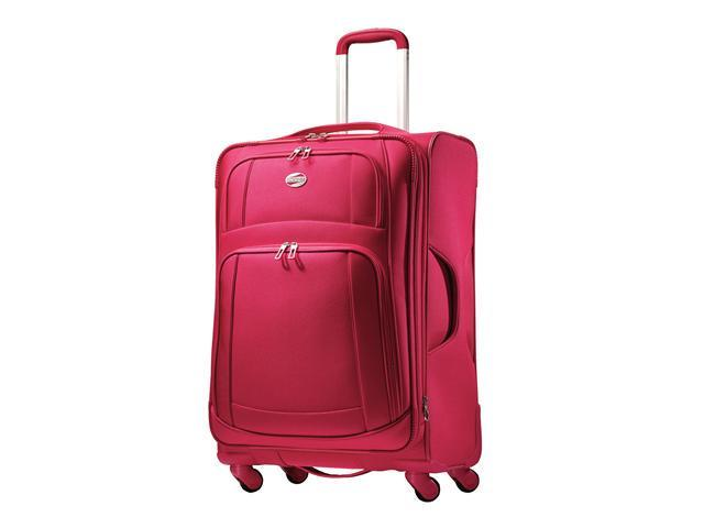 "American Tourister iLite Supreme 25"" Expandable Spinner Luggage Upright"